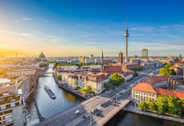 Berlin Skyline | ladesaulenregister.de